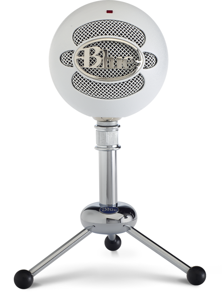 Snowball - Classic Studio-Quality USB Microphone -White