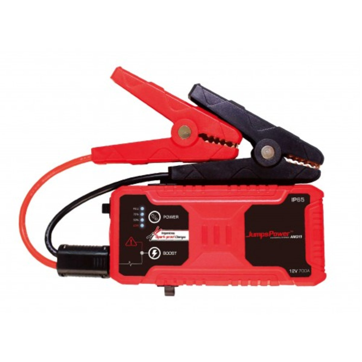 AMG 15 Heavy Duty Jump Starter With Ingenious Spark-proof Clamp