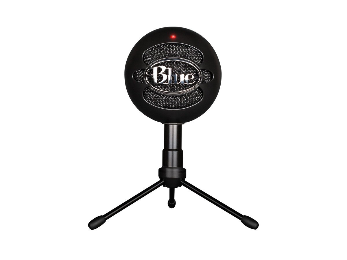 Snowball iCE plug and play USB Microphone - Black