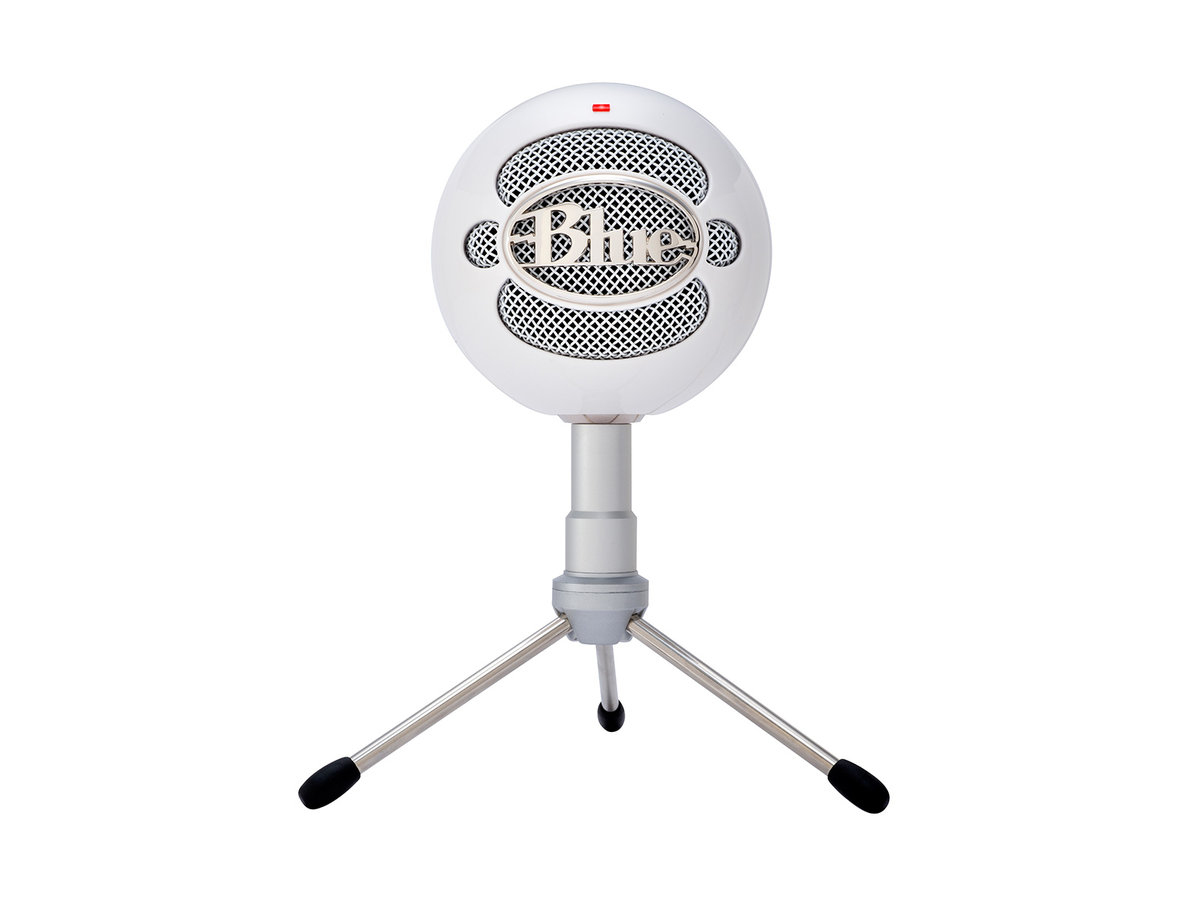 Snowball iCE plug and play USB Microphone - White