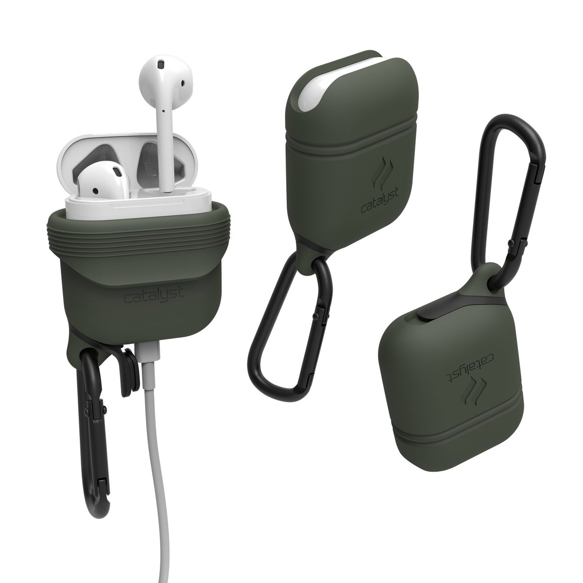 Case for Apple Airpods - Army Green