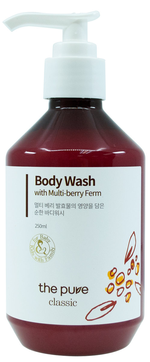 Body Wash with Multi-berry Ferm