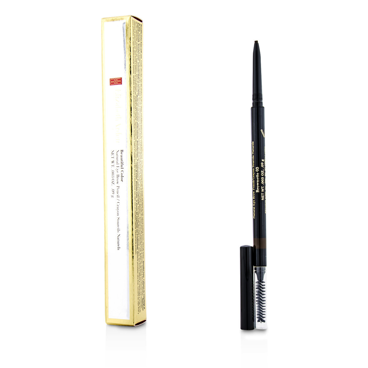 Beautiful Color Natural Eye Brow Pencil - # 03 Brownette  -[Parallel Import Product]