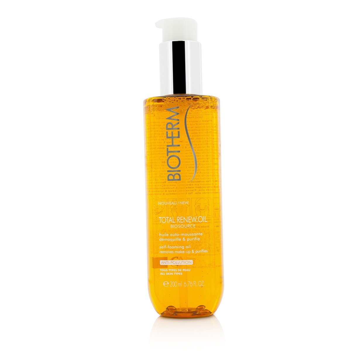 Biosource Total Renew Oil Self-Foaming Oil  -[Parallel Import Product]