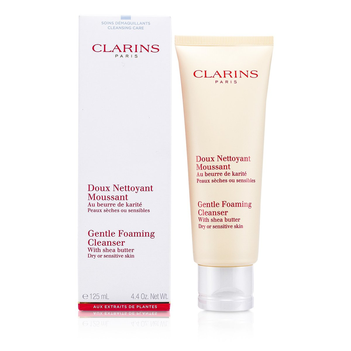 Gentle Foaming Cleanser with Shea Butter - Dry or Sensitive Skin  -[Parallel Import Product]