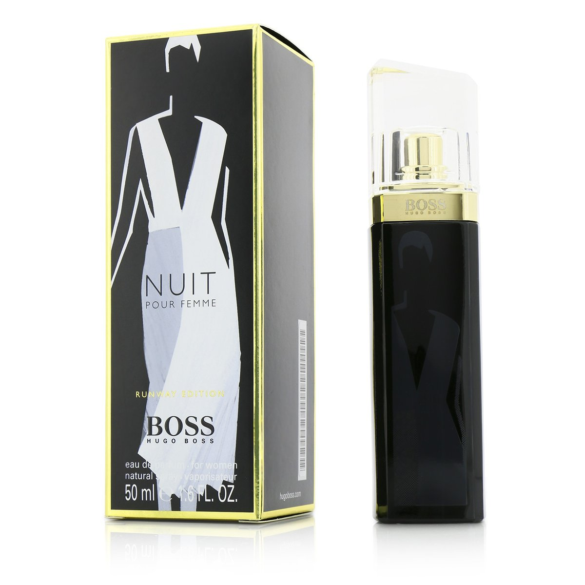 Boss Nuit Eau De Parfum Spray (Runway Edition)  -[Parallel Import Product]