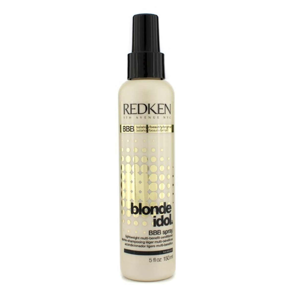 Blonde Idol BBB Spray Lightweight Multi-Benefit Conditioner (For Beautiful Blonde Hair)  -[Parallel Import Product]