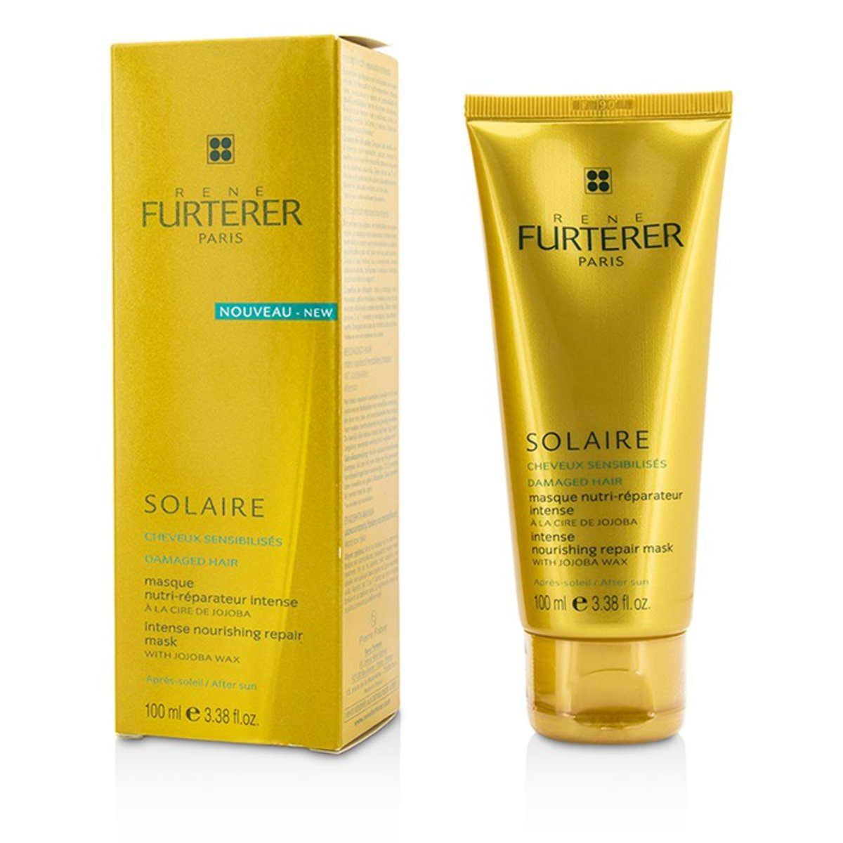 Solaire Intense Nourishing Repair Mask with Jojoba Wax (For Damaged Hair)  -[Parallel Import Product]