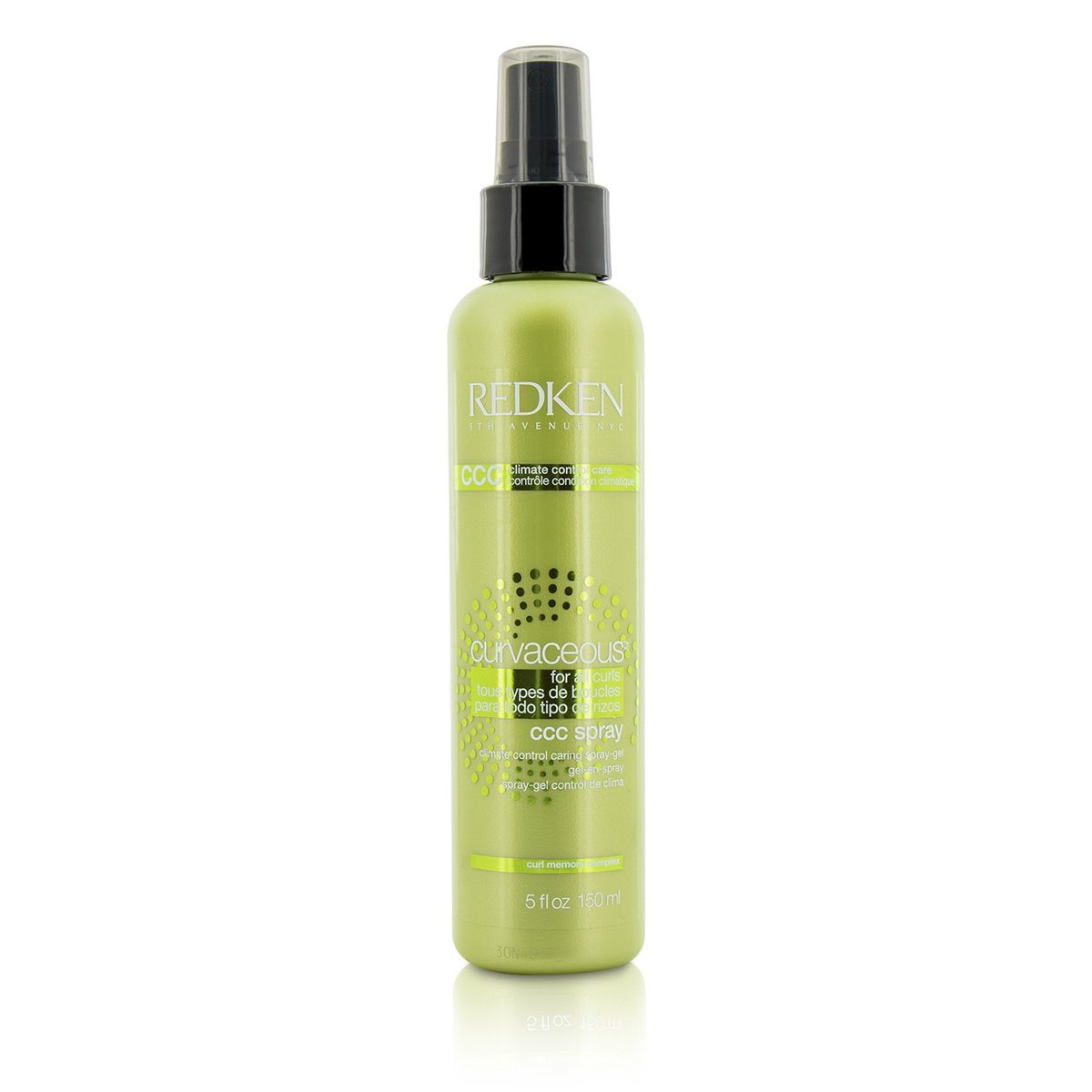 Curvaceous CCC Spray Climate Control Caring Spray-Gel (For All Curls)  -[Parallel Import Product]