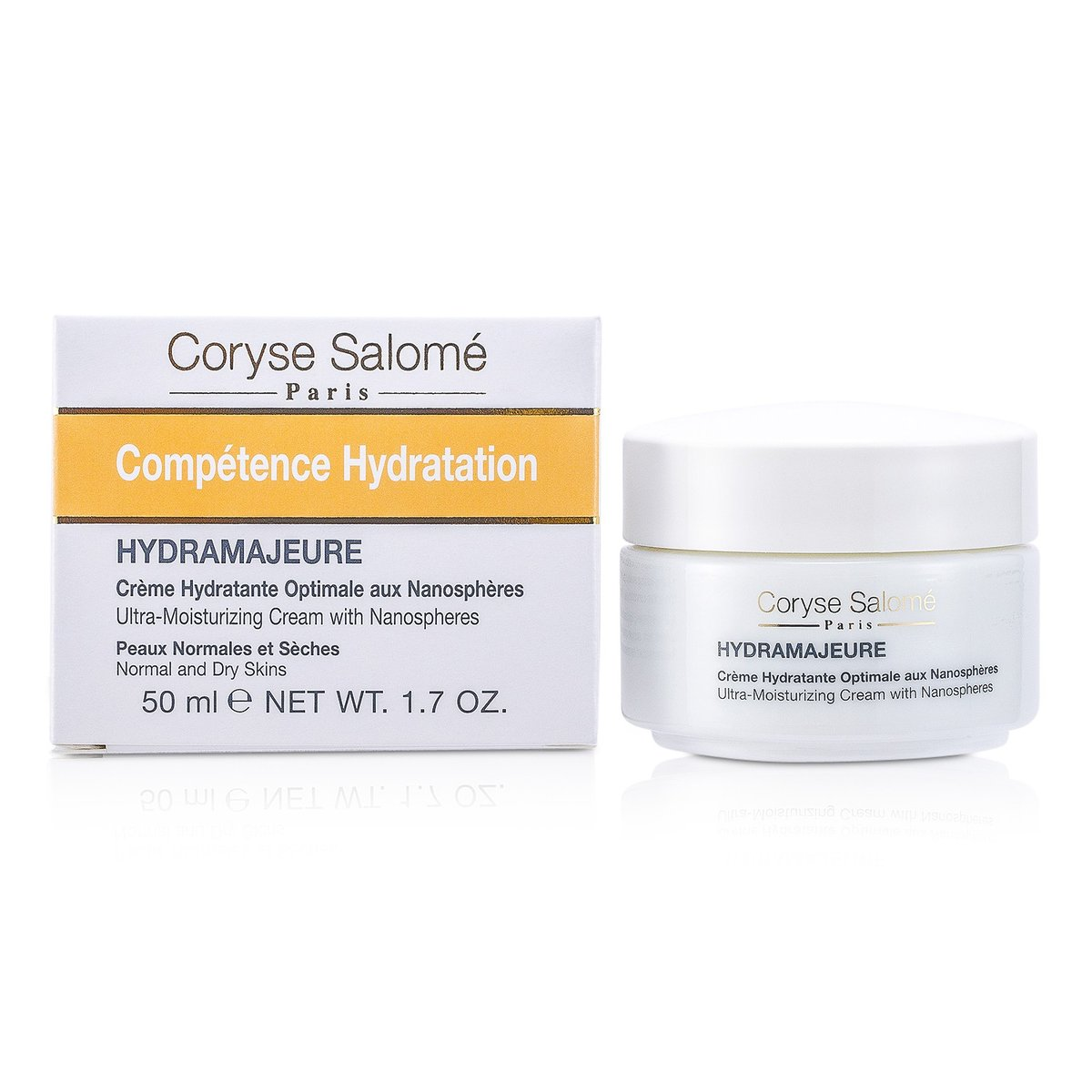 Competence Hydratation Ultra-Moisturizing Cream with Nanospheres - Normal & Dry Skins  -[Parallel Import Product]
