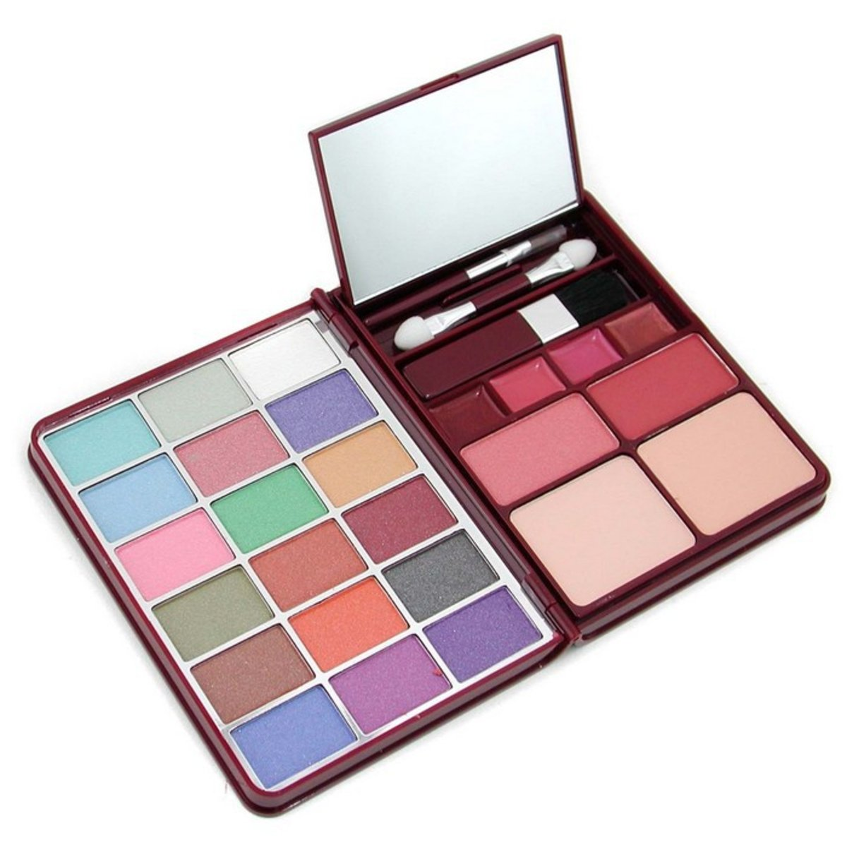 MakeUp Kit G0139 (18x Eyeshadow, 2x Blusher, 2x Pressed Powder, 4x Lipgloss) - 2  -[Parallel Import Product]