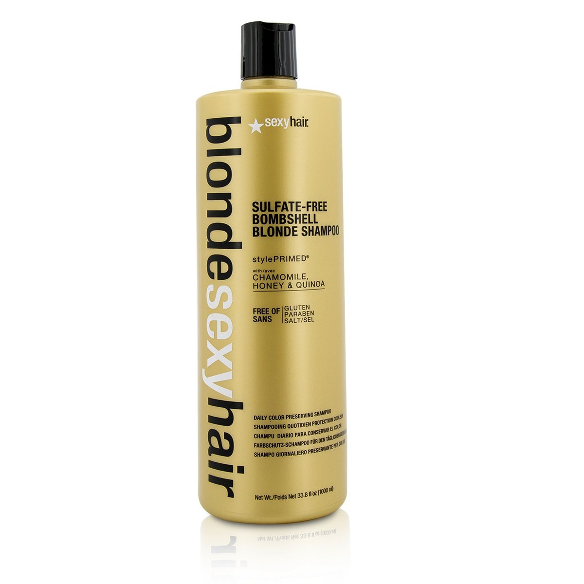 Blonde Sexy Hair Sulfate-Free Bombshell Blonde Shampoo (Daily Color Preserving)  -[Parallel Import Product]