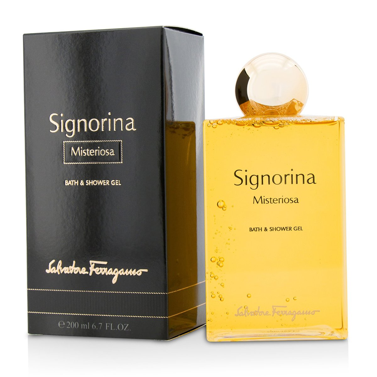 Signorina Misteriosa Bath & Shower Gel  -[Parallel Import Product]