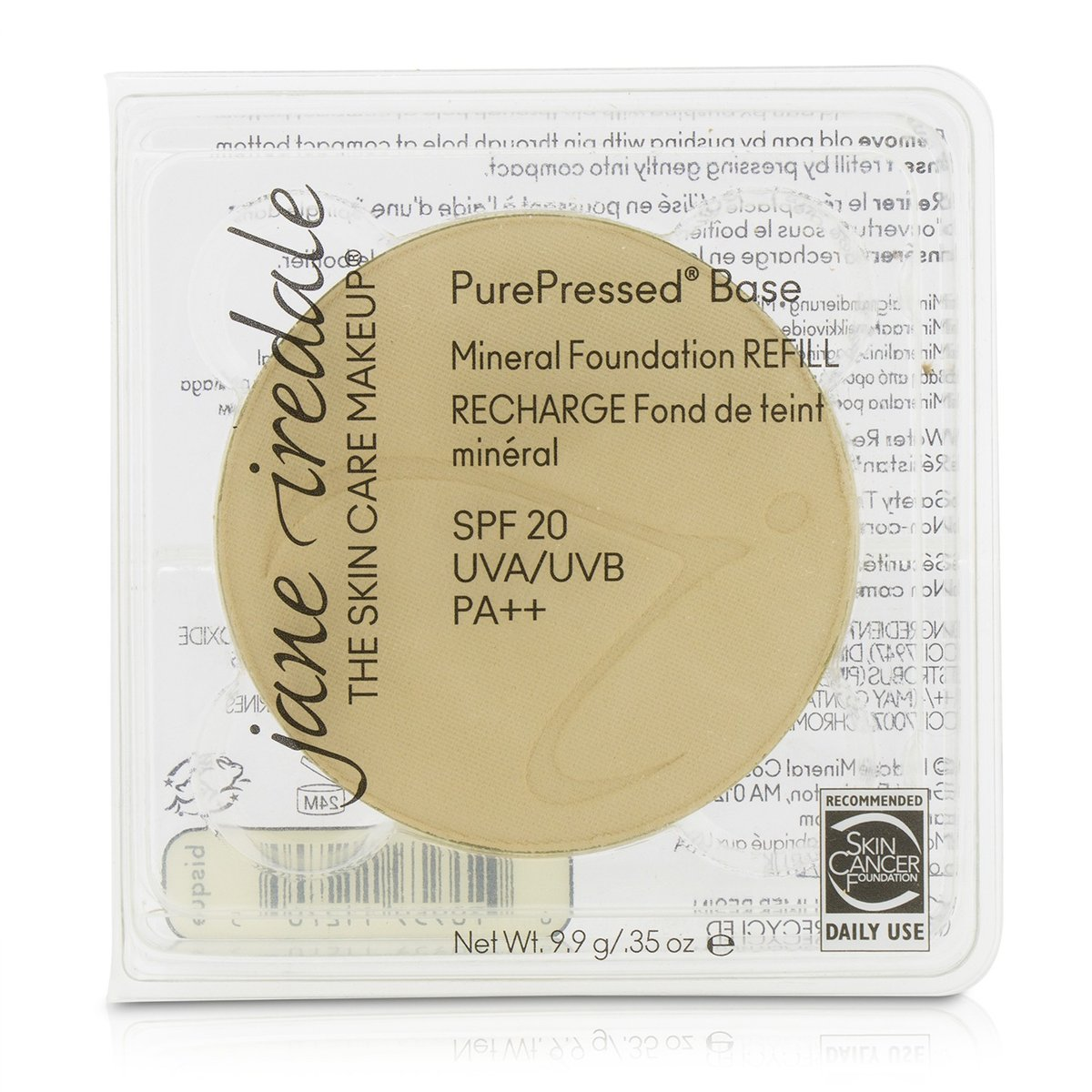 PurePressed Base Mineral Foundation Refill SPF 20 - Bisque  -[Parallel Import Product]