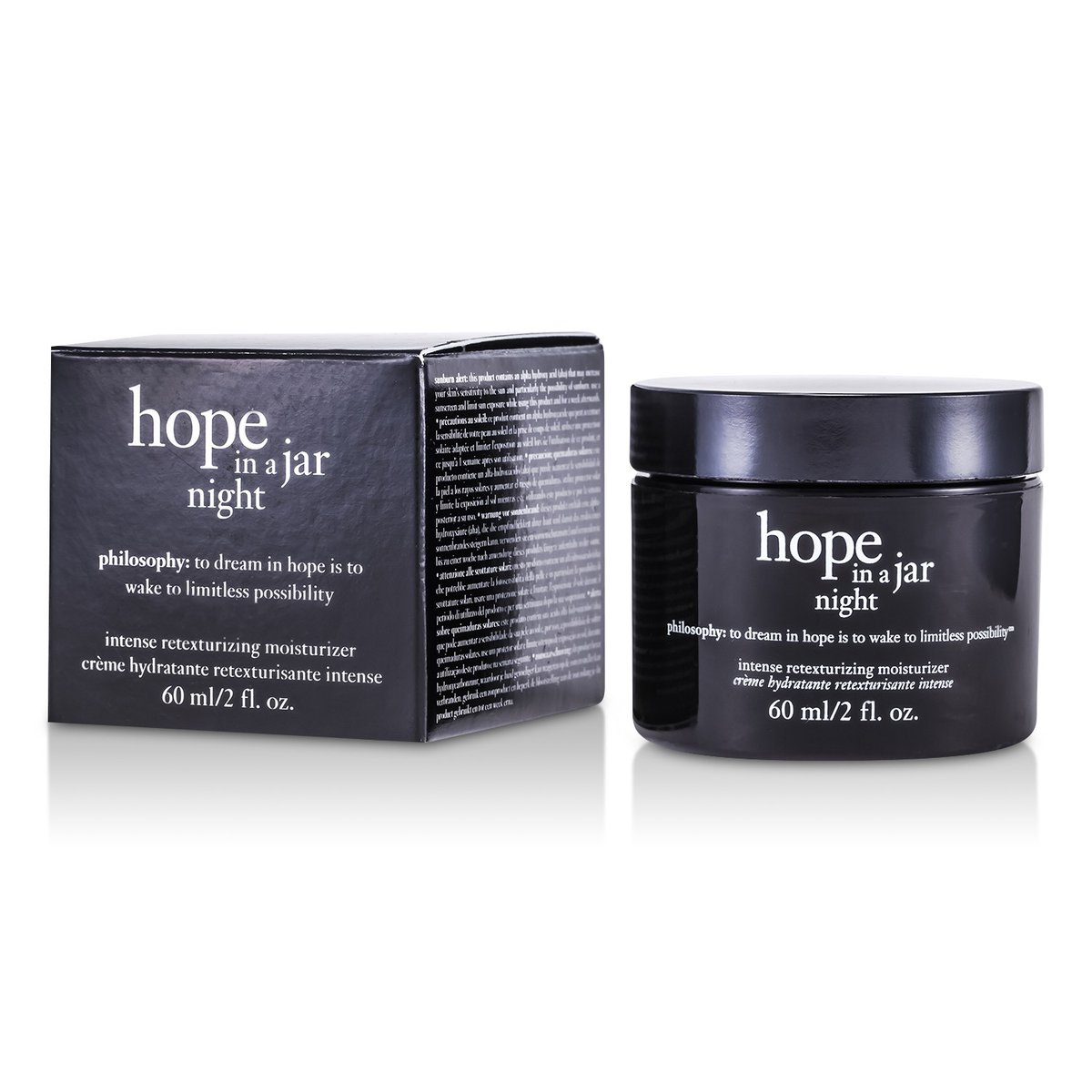 Hope In a Jar Night Intense Retexturizing Moisturizer  -[Parallel Import Product]