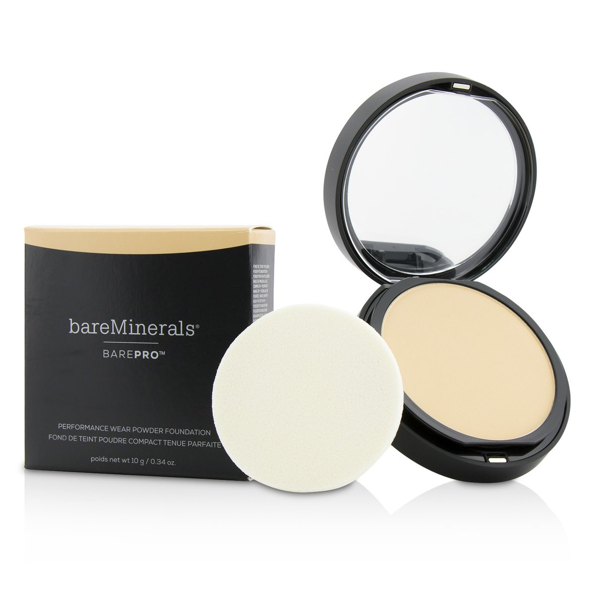 BarePro Performance Wear Powder Foundation - # 03 Champagne  -[Parallel Import Product]