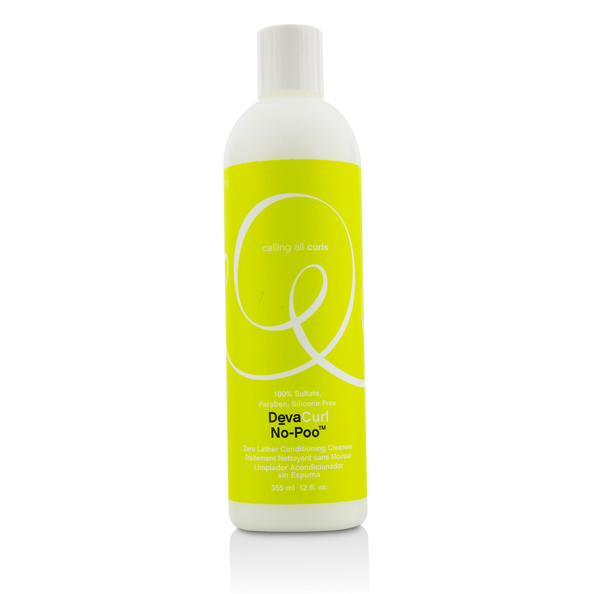 No-Poo Original (Zero Lather Conditioning Cleanser - For Curly Hair)  -[Parallel Import Product]