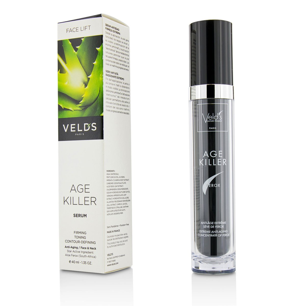 Age Killer Face Lift Anti-Aging Serum - For Face & Neck  -[Parallel Import Product]