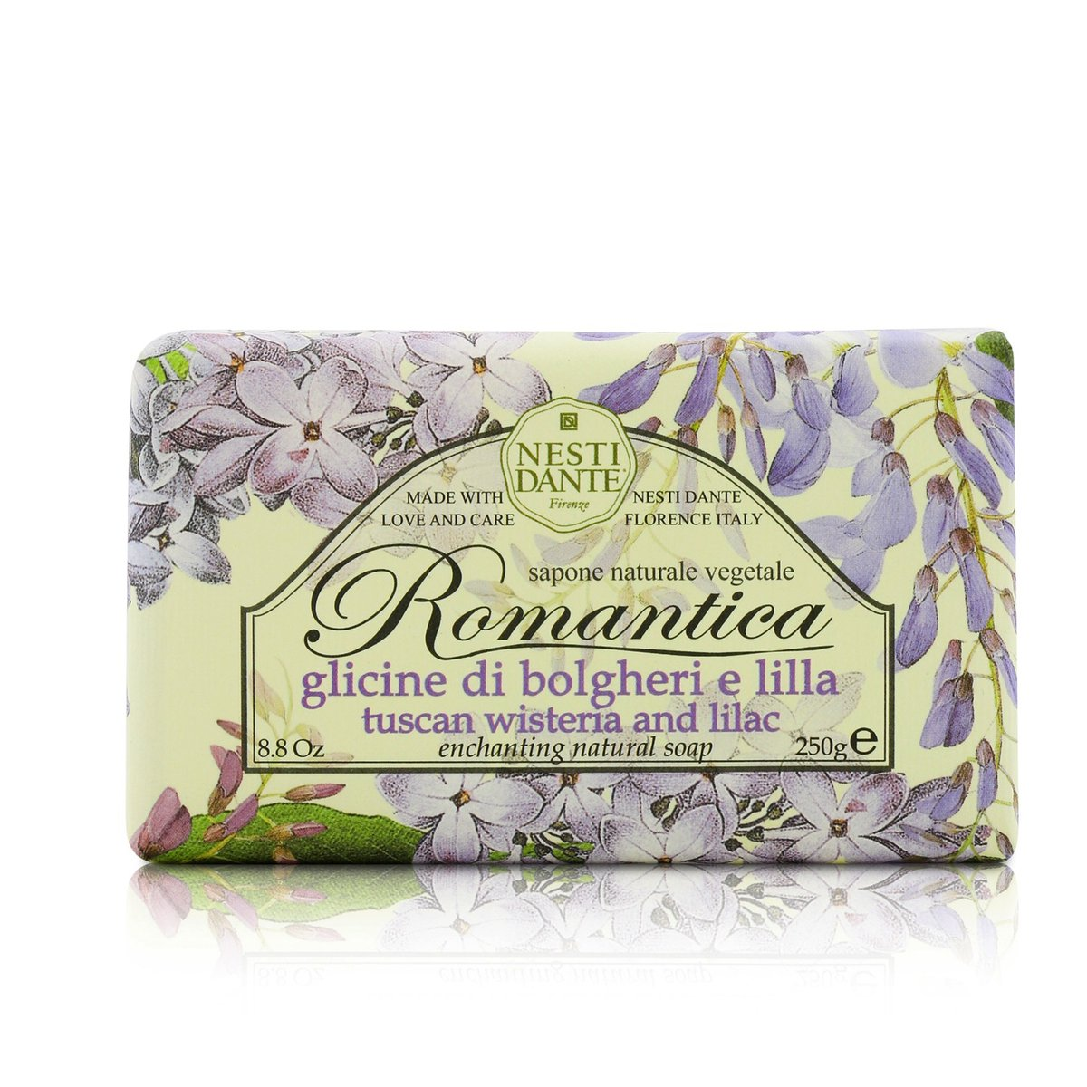 Romantica Enchanting Natural Soap - Tuscan Wisteria & Lilac  -[Parallel Import Product]