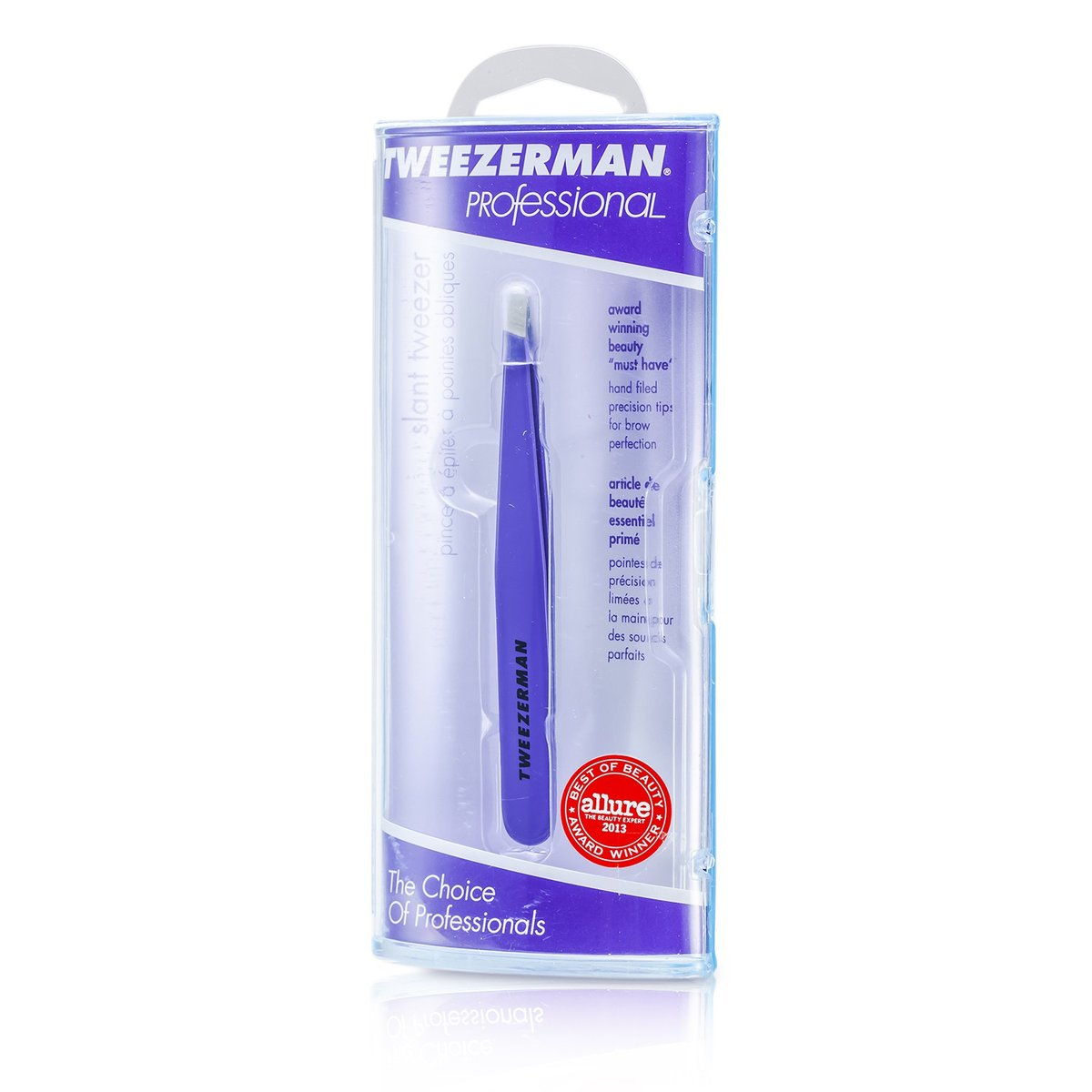 Professional Slant Tweezer - Blooming Lilac  -[Parallel Import Product]