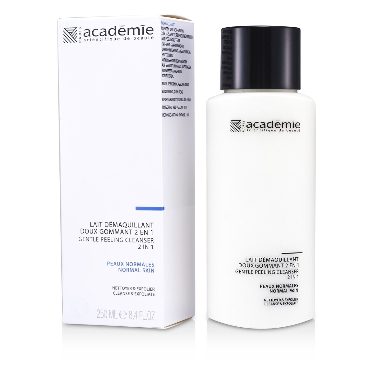100% Hydraderm Gentle Peeling Cleanser 2 in 1  -[Parallel Import Product]