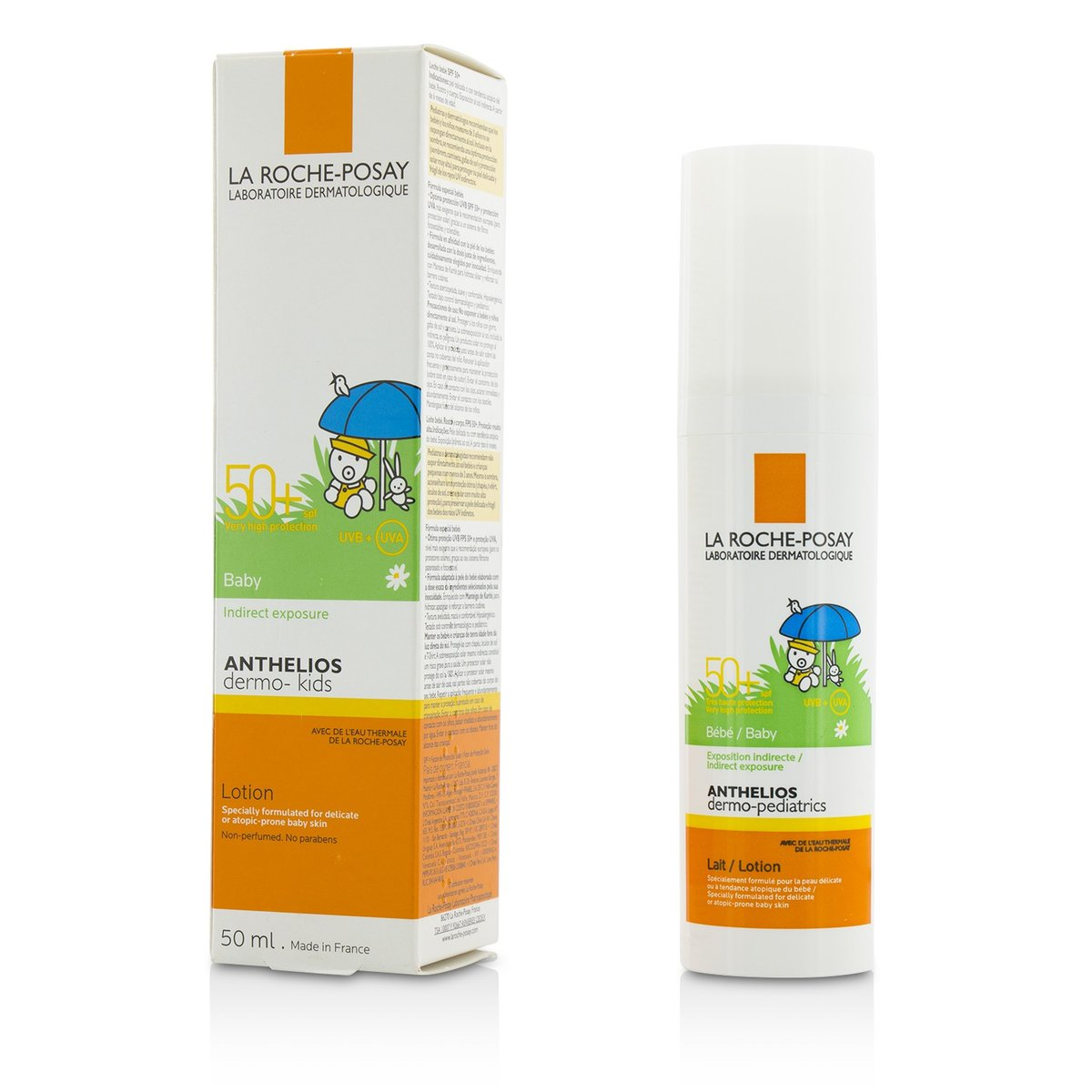 Anthelios Dermo-Kids Baby Lotion SPF50+ (Specially Formulated for Babies)  -[Parallel Import Product]