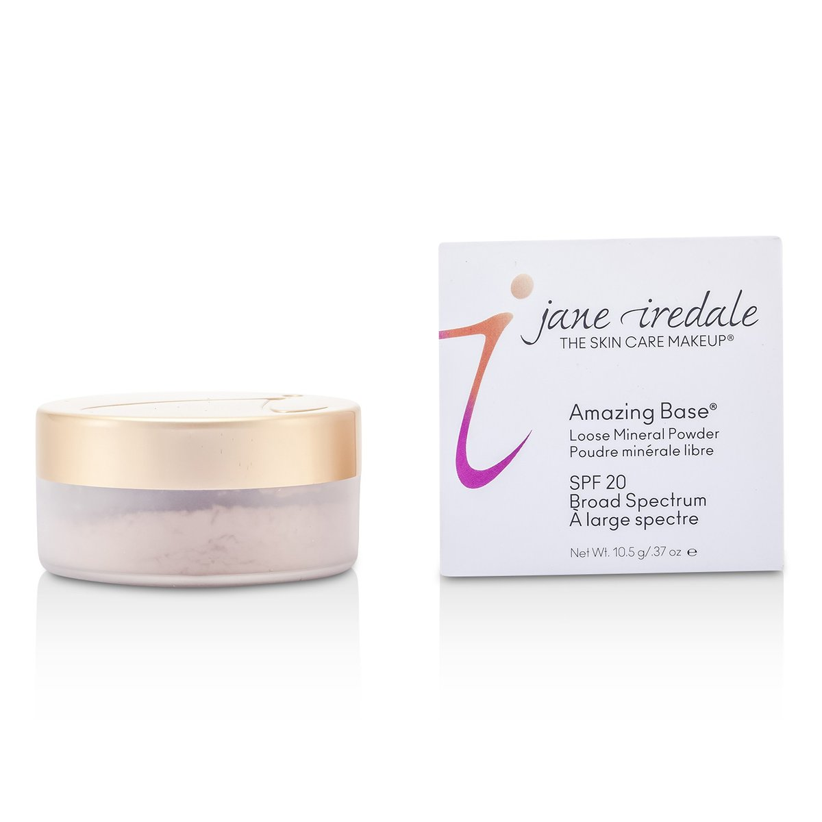 Amazing Base Loose Mineral Powder SPF 20 - Light Beige 10.5g/0.37oz - [Parallel Import Product]