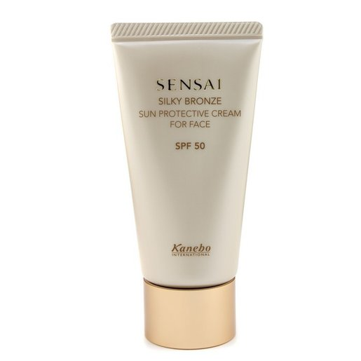 Sensai Silky Bronze Sun Protective Cream For Face SPF 50  -[Parallel Import Product] [Sun Care & Bronzers (Face)]