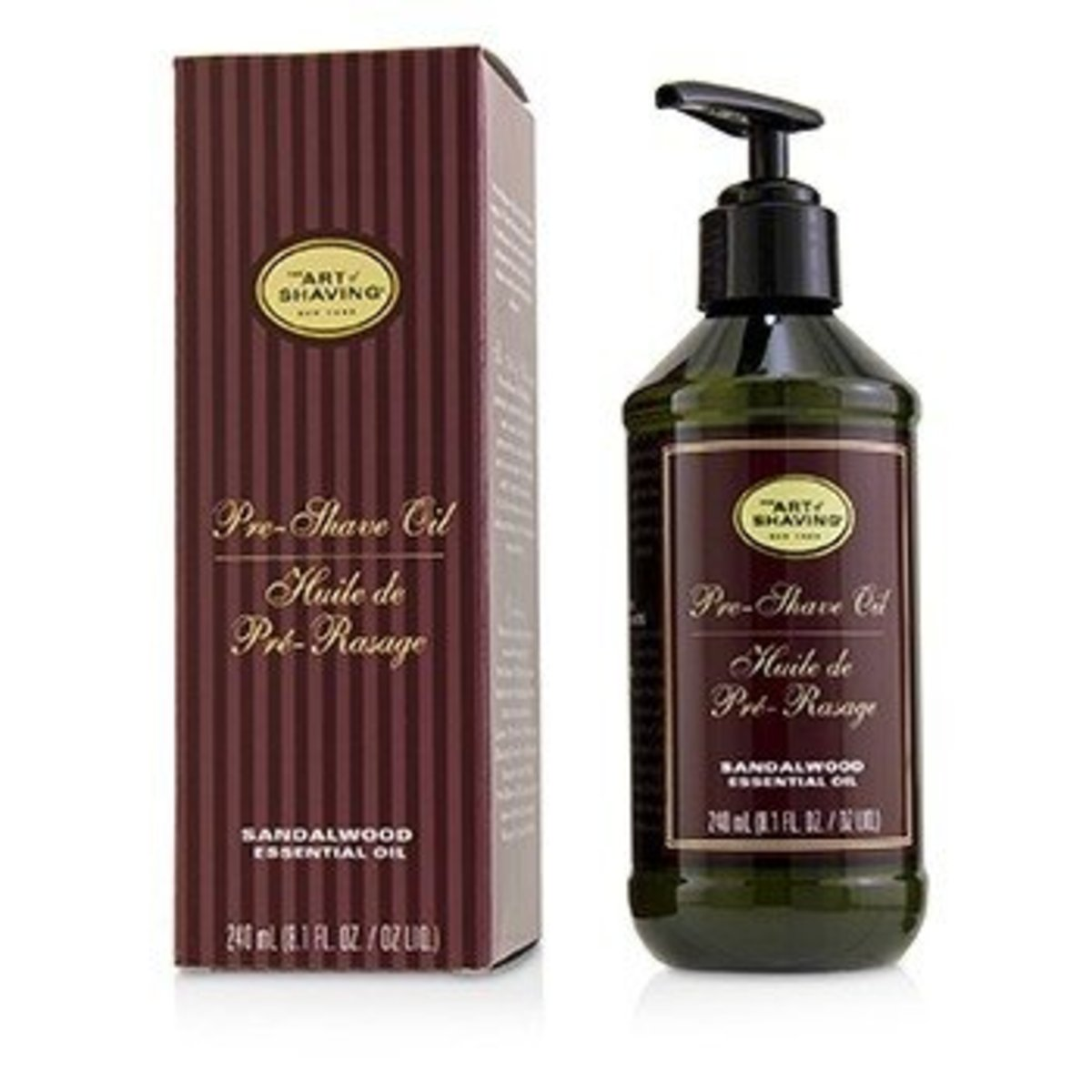 Pre-Shave Oil - Sandalwood Essential Oil (With Pump)  -[平行進口]