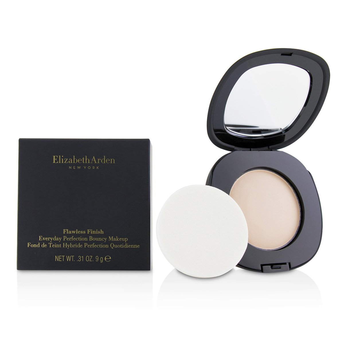 Flawless Finish Everyday Perfection Bouncy Makeup - # 01 Porcelain  -[Parallel Import Product]