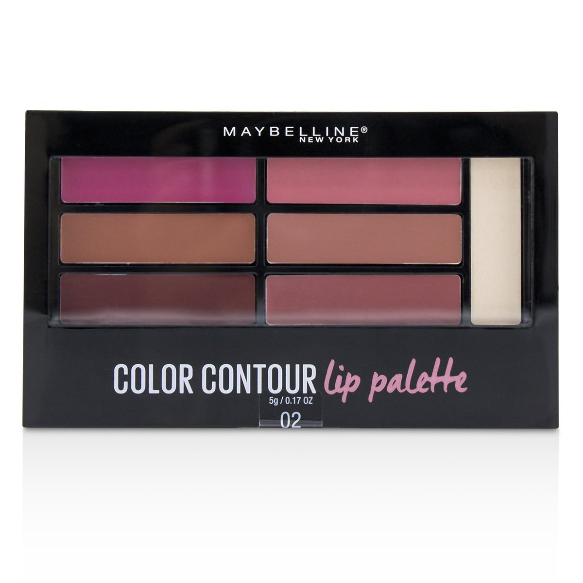 Color Contour Lip Palette - # 02 Blushed Bombshell  -[Parallel Import Product]