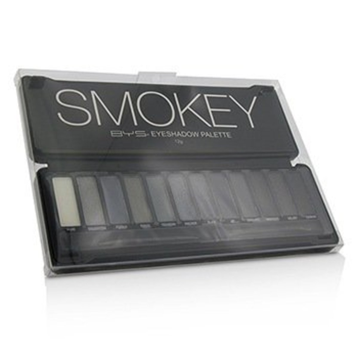 Eyeshadow Palette (12x Eyeshadow, 2x Applicator) - Smokey  -[Parallel Import Product]