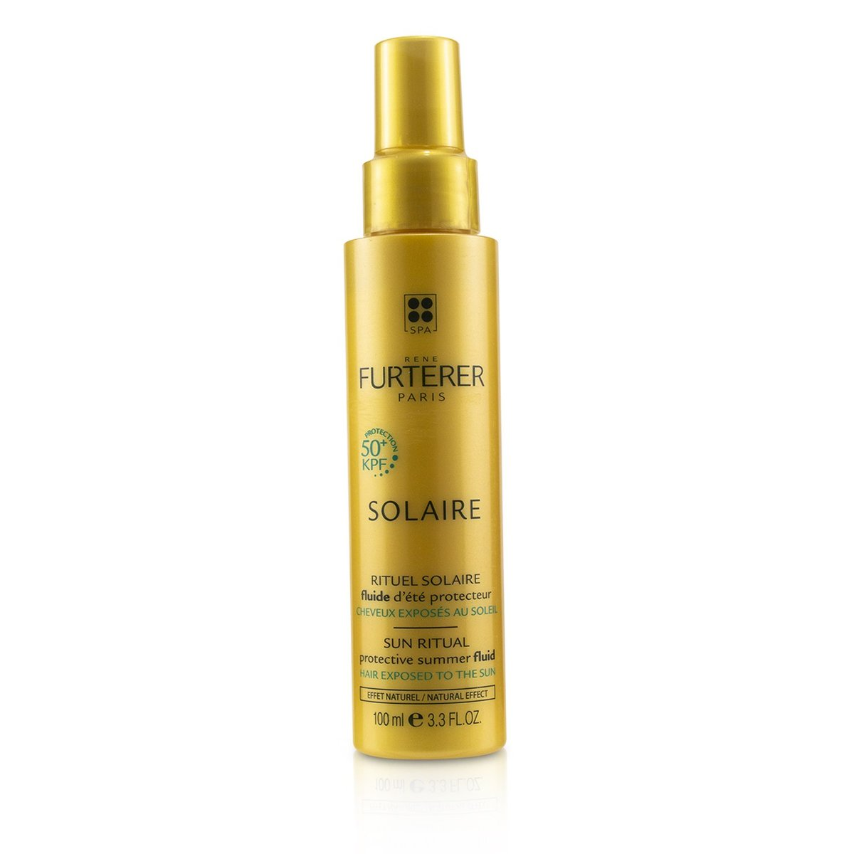Solaire Sun Ritual Protective Summer Fluid (Hair Exposed To The Sun, Natural Effect)  -[Parallel Imp