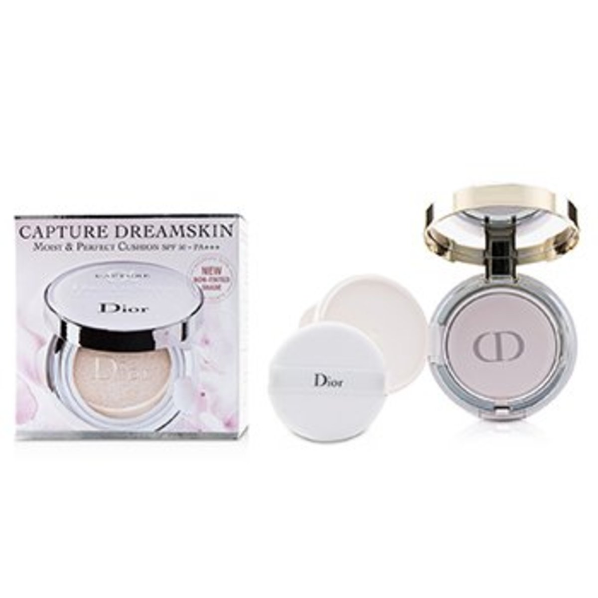 Capture Dreamskin Moist & Perfect Cushion SPF 50 With Extra Refill - # 000  -[Parallel Import Produc