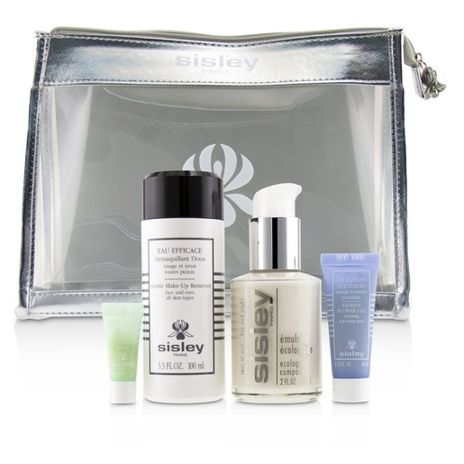 Week-End Must-Haves Set: Ecological Compound 60ml + Gentle Make-Up Remover 100ml + Express Flower Ge