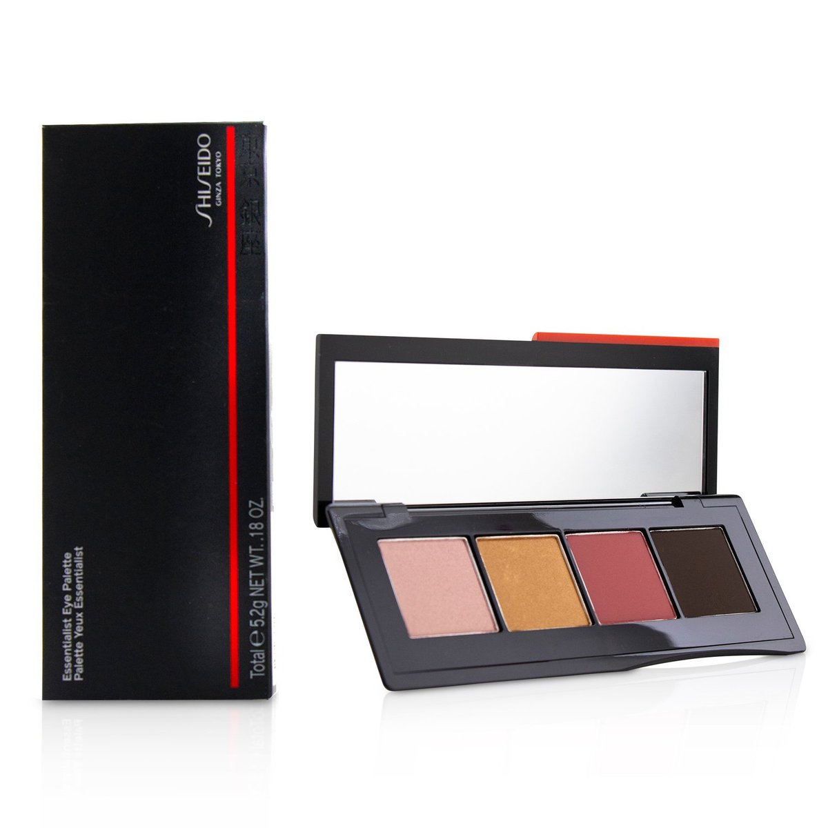 Essentialist Eye Palette - # 08 Jizoh Street Reds  -[Parallel Import Product]