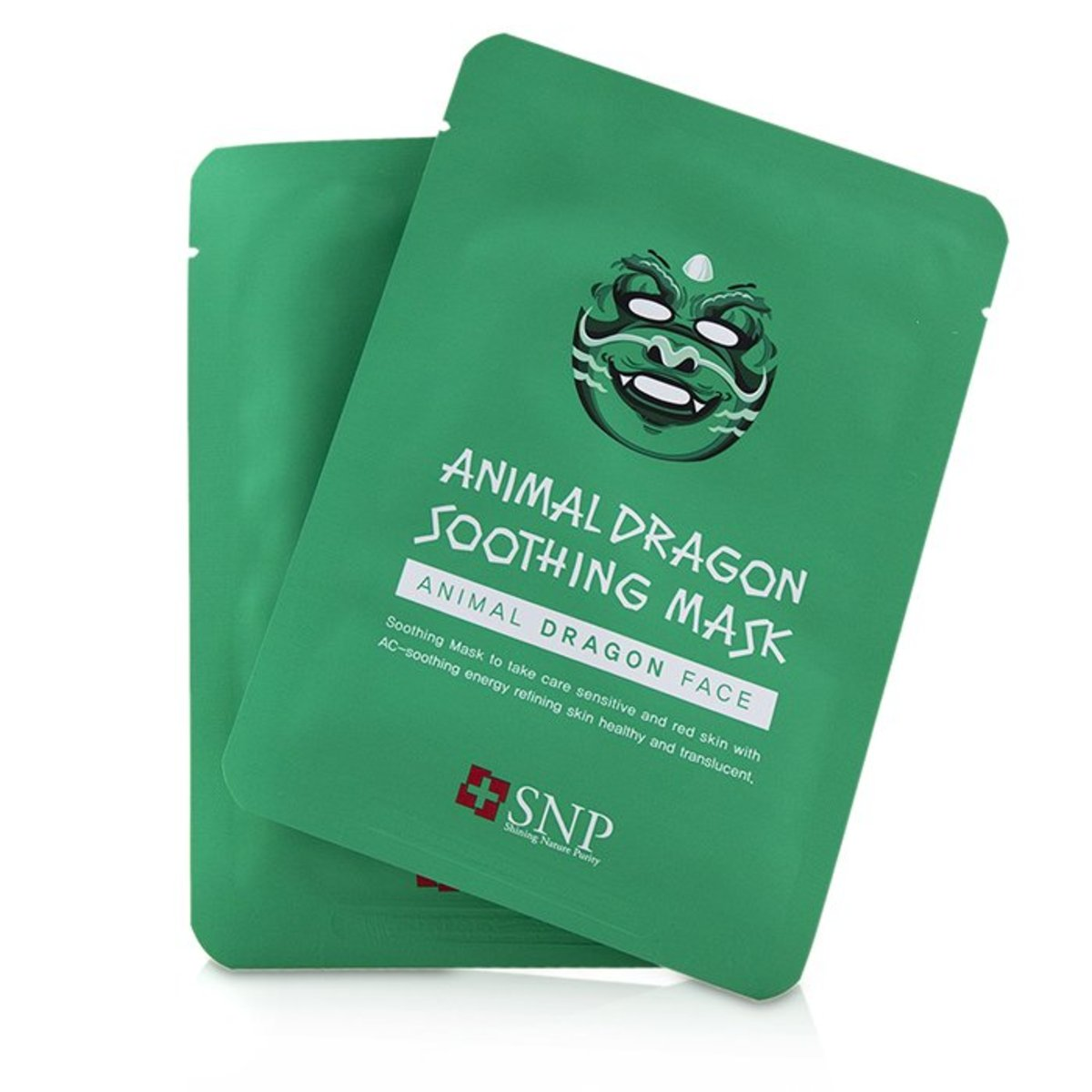 Animal Dragon Soothing Mask  -[Parallel Import Product]