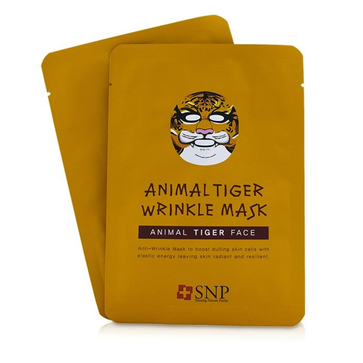 Animal Tiger Wrinkle Mask  -[Parallel Import Product]