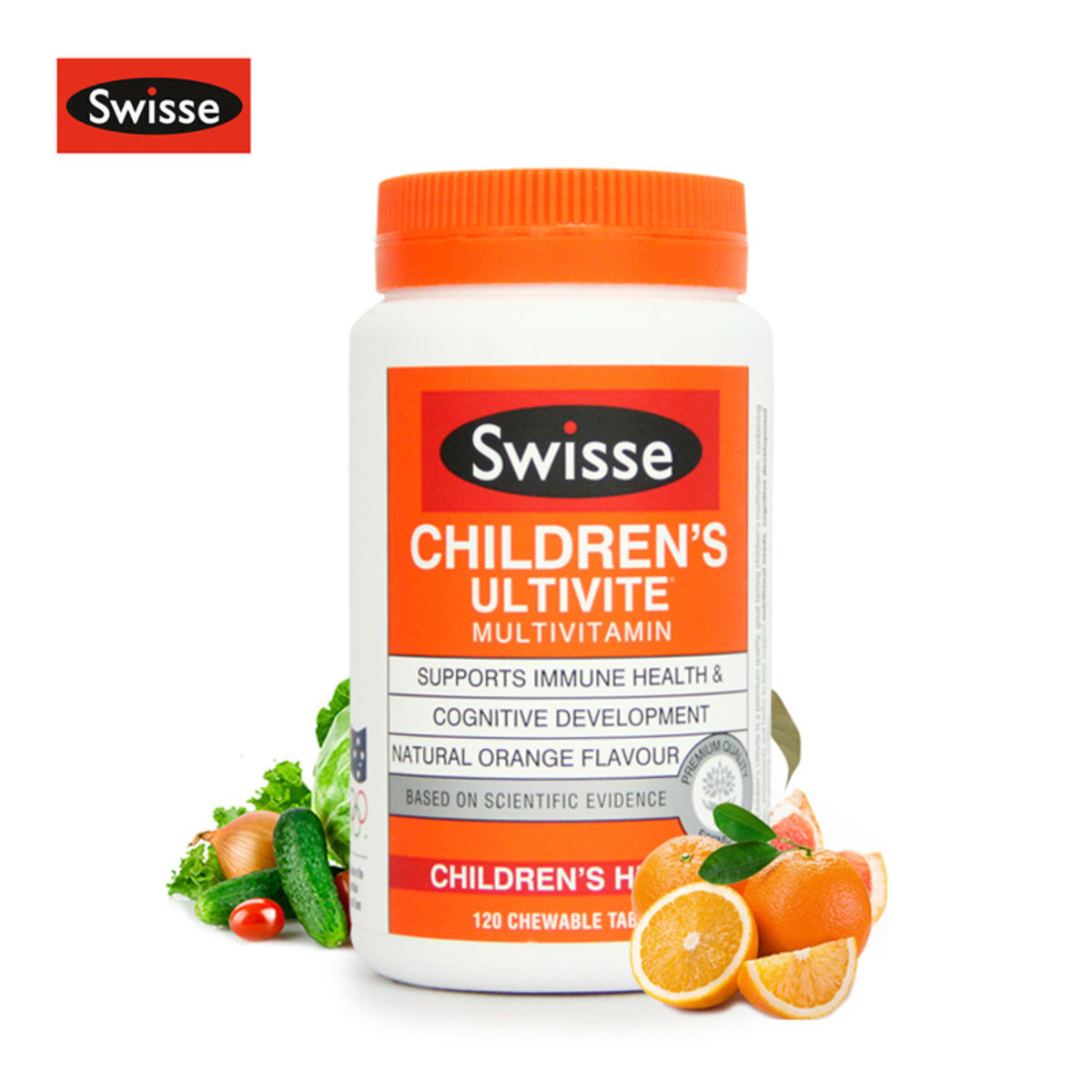 Swisse Childrens Ultivite 120 Tablets Hktvmall Online Shopping Wellness Calcium Citrate Tablet