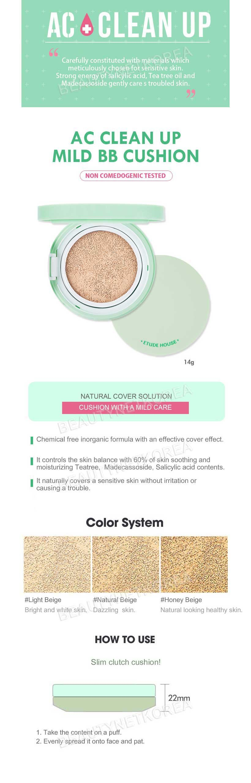 Spf50 Pa review etude house ac clean up mild bb. Source ·