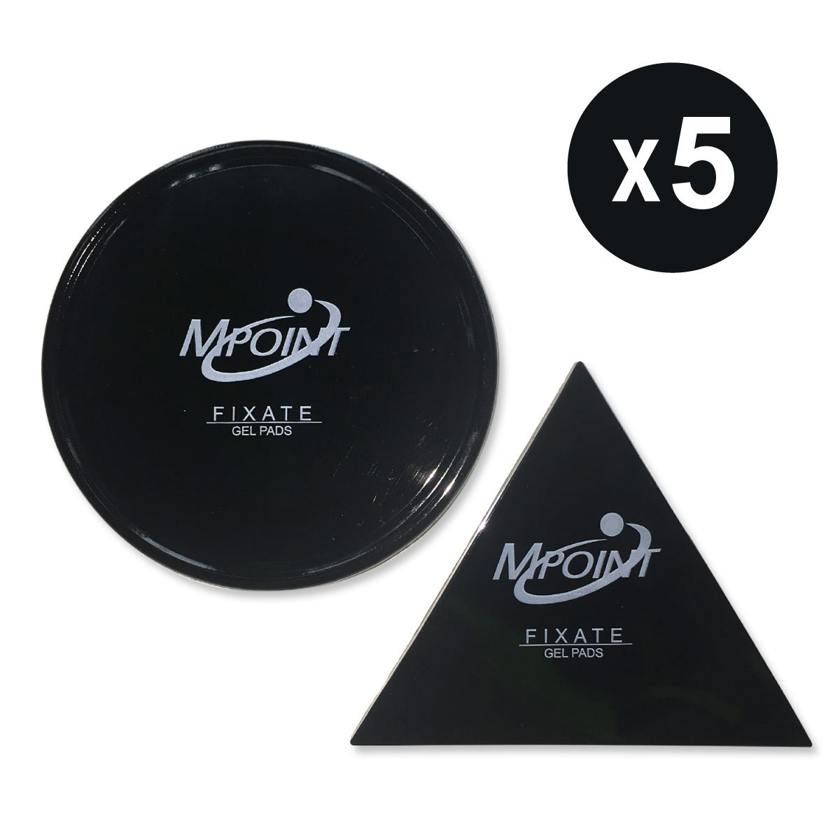 Gel Pads - Black (5 Sets)