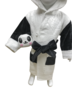Baby&Kids Panda Bathrobe & Plush Toy (L)