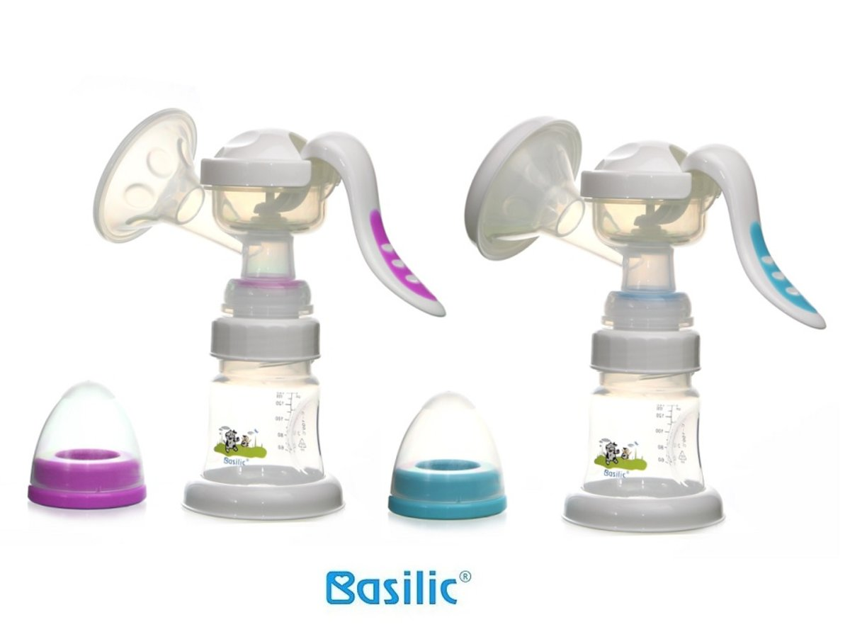 Basilic manual breast pump