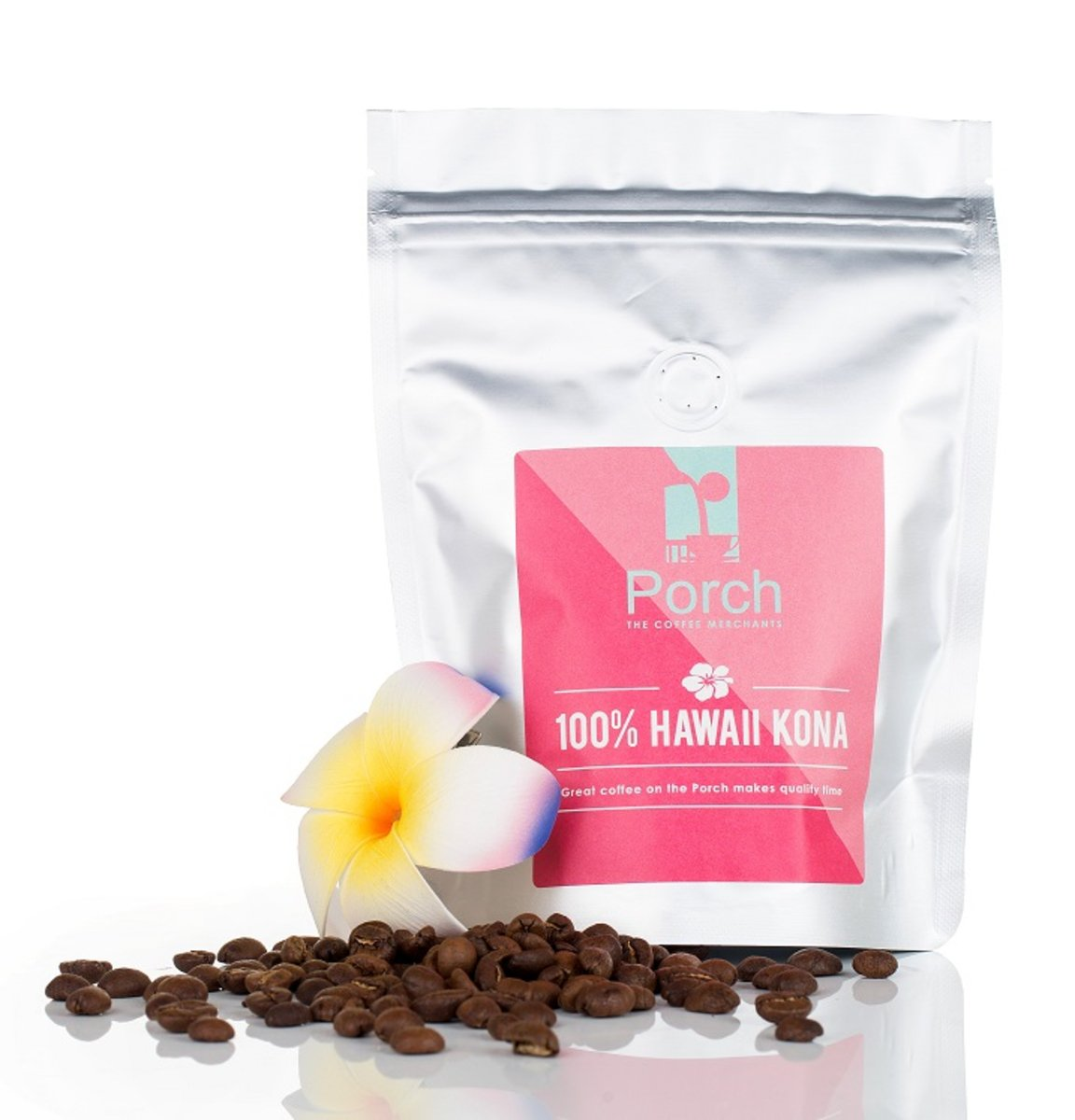 100% Hawaii Kona whole beans (200g)