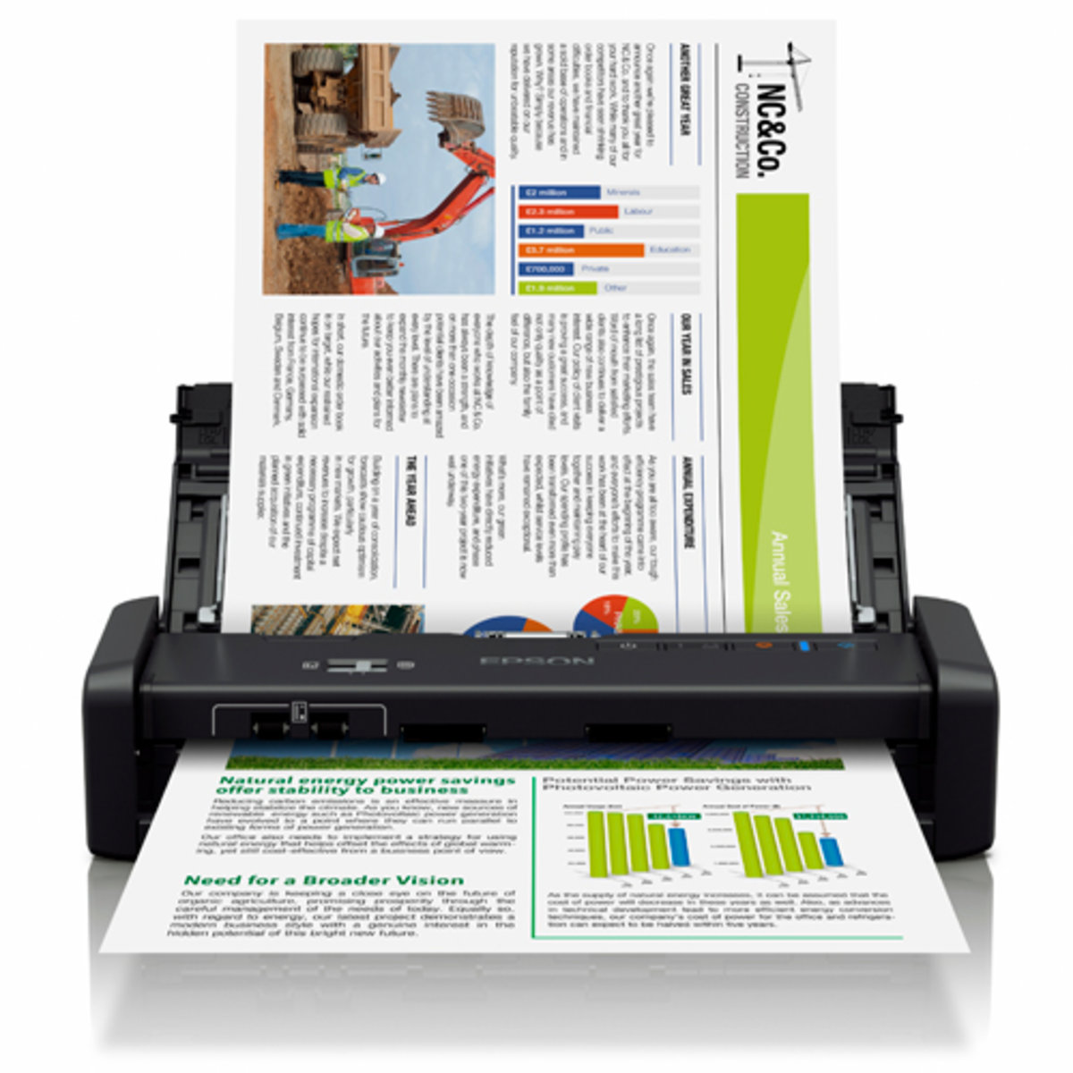 DS-360W Protable Document Scanner