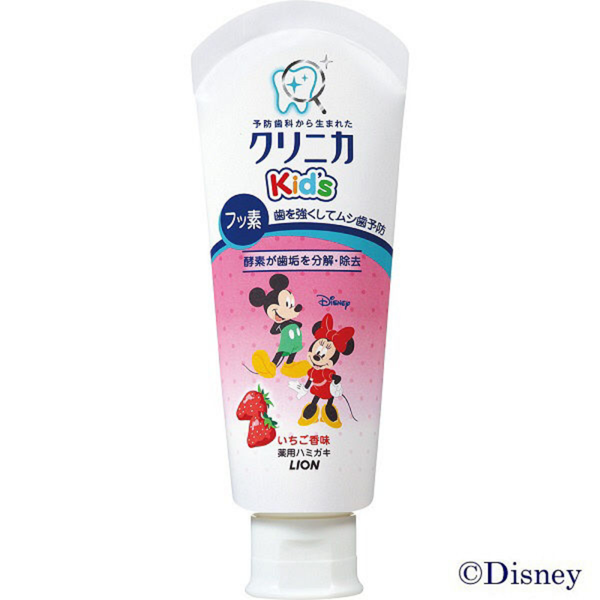 Mickey Kid's Toothpaste (Strawberry, 60g) (Parallel Import Product)