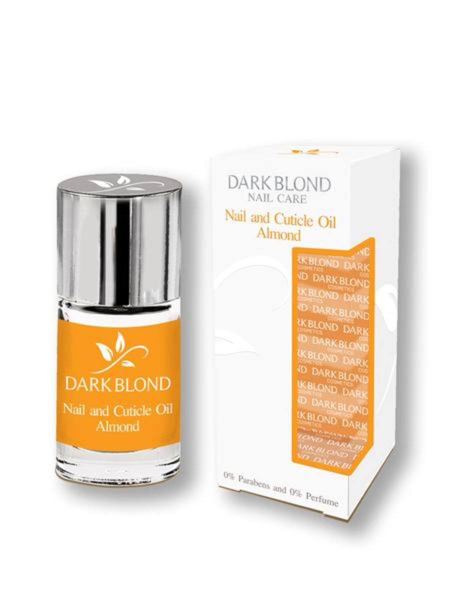 NAIL CARE - NAIL & CUTICLE OIL ALMOND