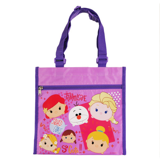 Lunch Bag (Princess/Purple) (Licensed by Disney)