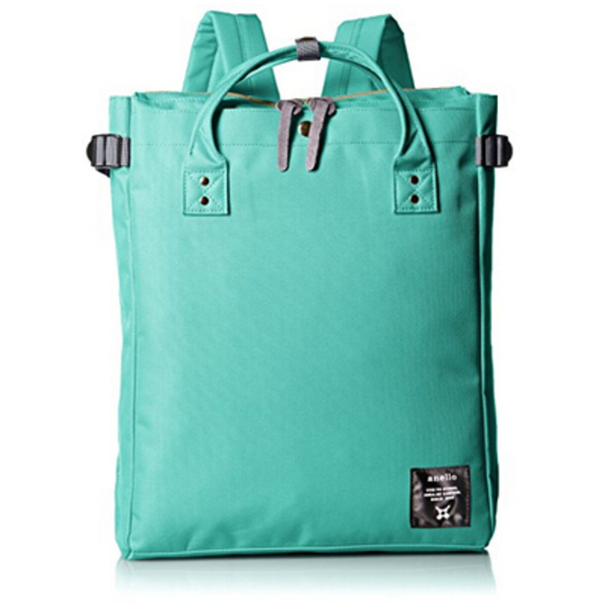 (Mint Green) Japan Anello 2WAY Hand Bag or Backpack