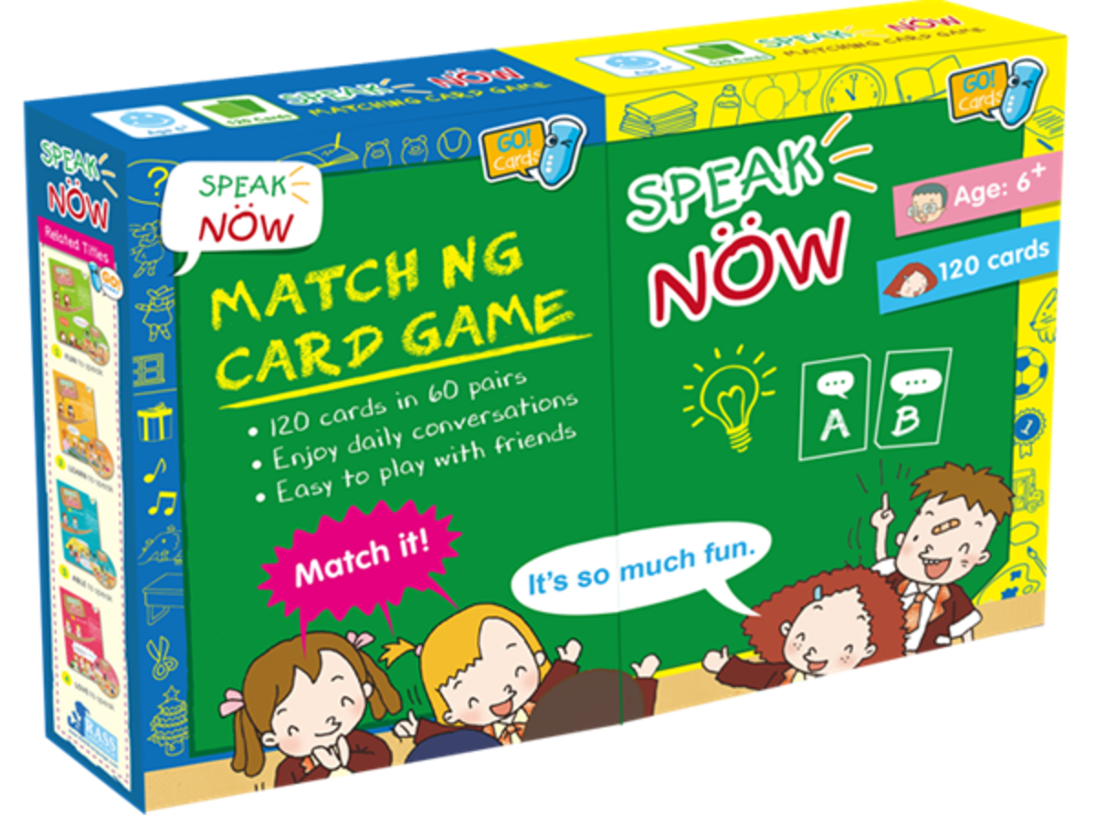 Speak Now Matching Card Game (120 Cards)
